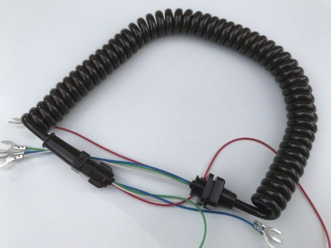 GPO Brown Telephone Handset Cable